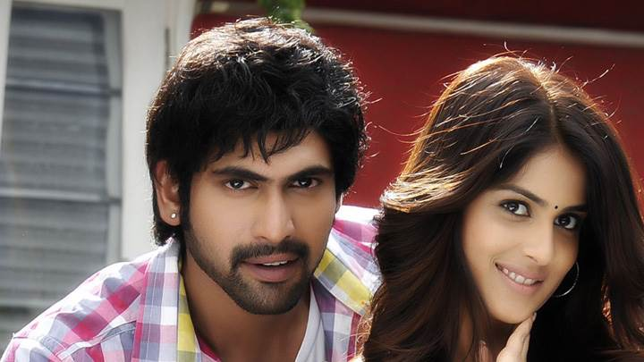 Genelia D'Souza And Rana Daggubati Looking Front In Naa Ishtam